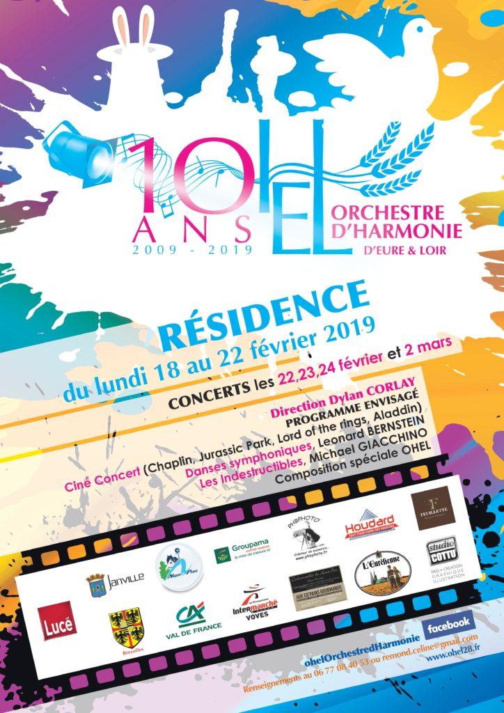 Affiche recrutement OHEL 2019