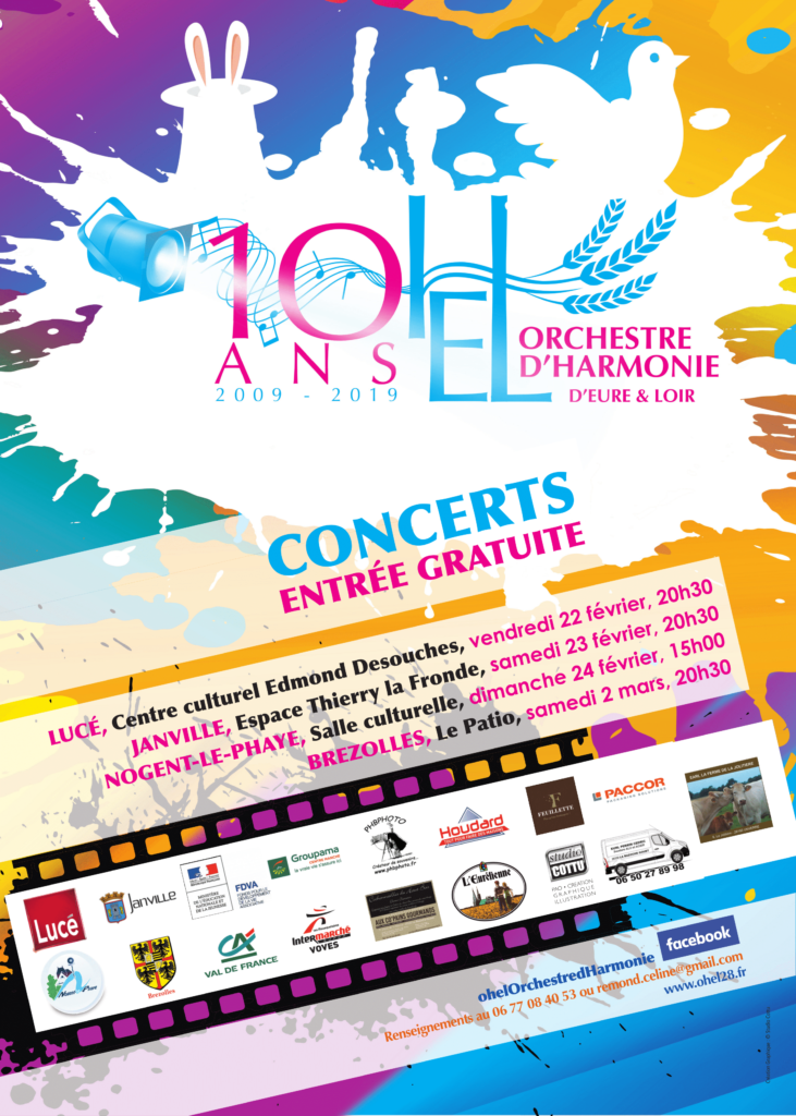 Affiche Concert OHEL 2019